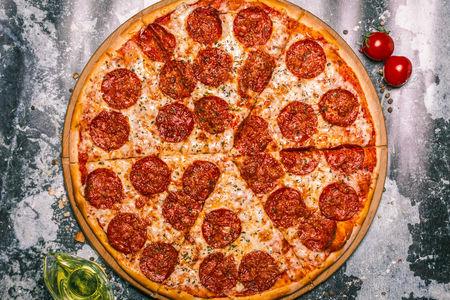 Пицца Пепперони Де Люкс