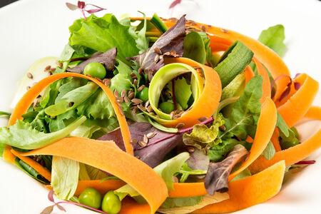 Салат Простой из свежих овощей