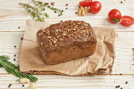 Хлеб Темный безглютеновый бездрожжевой