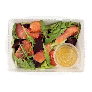 Салат с лососем «Хлеб Насущный»