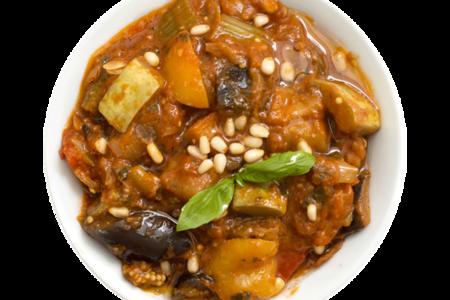 Рагу овощное с кедровыми орешками