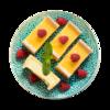 Фото к позиции меню Пирожное Нью Йорк Чизкейк от шеф-кондитера Ав