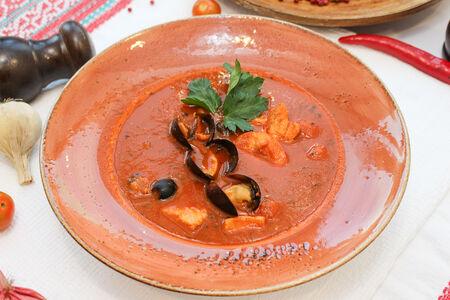 Приморска супа са томатам пилати