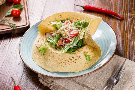 Теплый салат Макларен