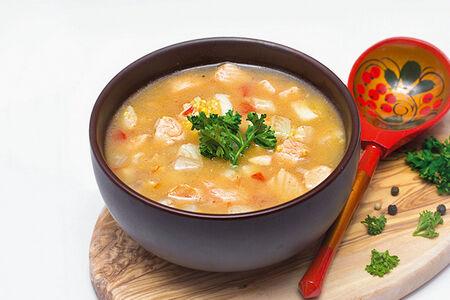 Суп Похлебка рыбная