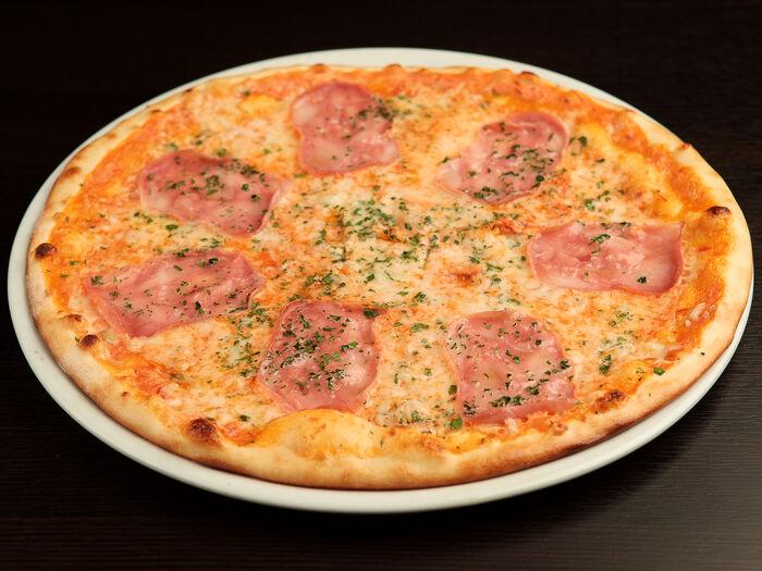 Пицца Римини с ветчиной