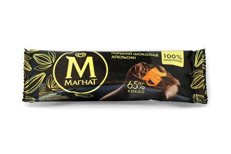 Мороженое Магнат Горький шоколад Апельсин