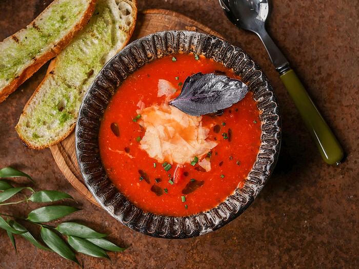 Суп Томатный с пармезаном