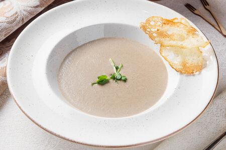 Крем-суп грибной