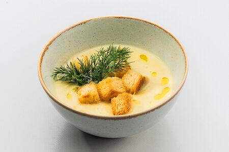 Крем-суп луковый