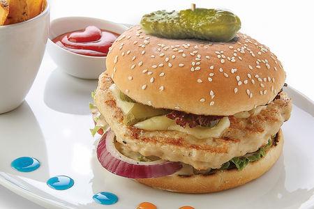 Королевский микс бургер с курицей