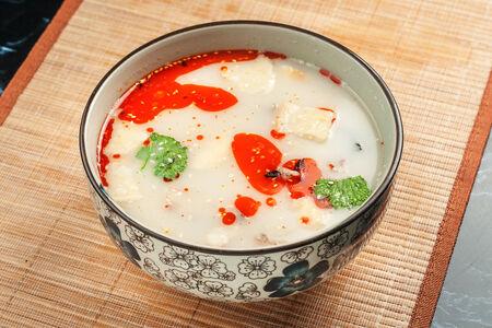 Суп бараний с клецками