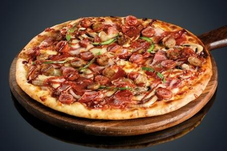 Охотничья пицца