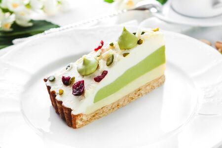 Крем-торт Зеленый чай
