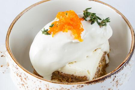 Морковный кейк с сырным кремом