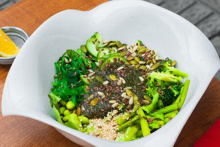 Будда-боул Зеленый вегетарианский