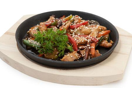Курица Терияки с овощами
