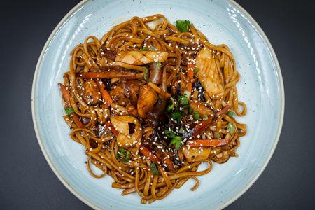 Морепродукты по-шанхайски