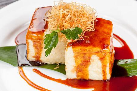 Тофу в соусе терияки