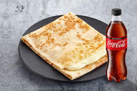 Блин Хачапури и Coca-Cola на выбор