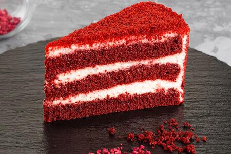 Торт Красный бархат порционный