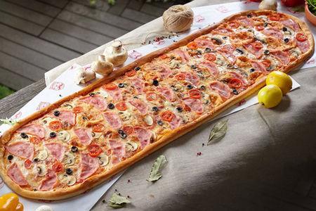 Метровая пицца Капричоза