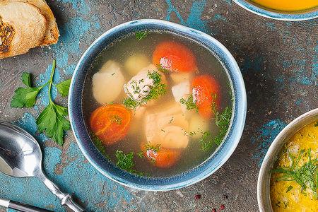 Грузинский рыбный суп