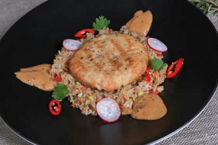 Куриный бифштекс Азия