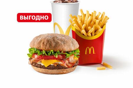 Биф А-ля Рус с беконом Большой МакКомбо