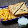 Фото к позиции меню Сэндвич Клаб с курицей