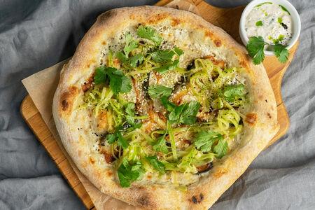 Пицца Угорь с моцареллой