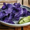 Фото к позиции меню Чипсы из фиолетового картофеля