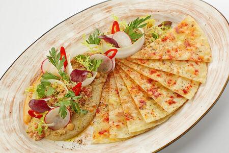 Хумус с салатом табуле