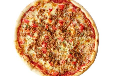 Пицца с соусом Болоньез