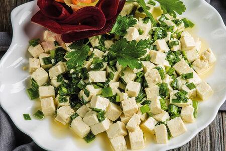 Дуфу с зеленым луком