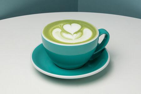 Чай Матча-латте