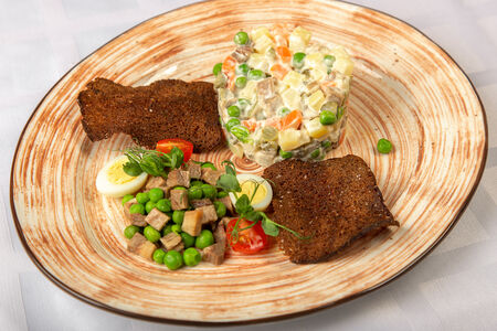 Французский салат Оливье