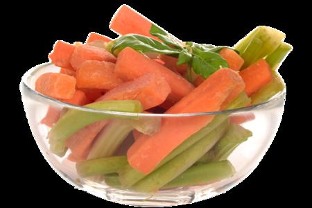 Снэк Морковь и сельдерей