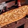 Фото к позиции меню Пицца Сырная с грушей метровая