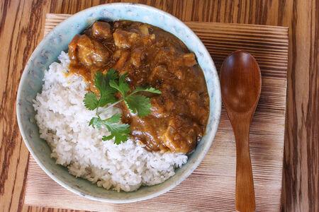Японский карри с курицей и рисом