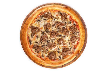 Пицца Болоньезе на пышном тесте