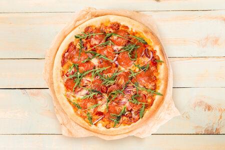 Нью-Йоркская пицца Дабл пепперони