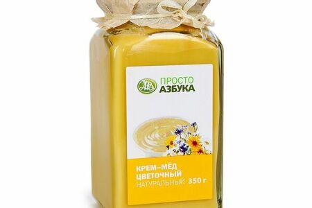 Крем-мед цветочный