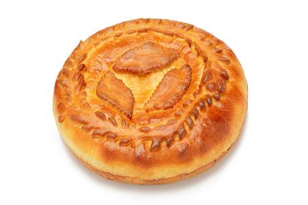 Пирог с печенью и луком