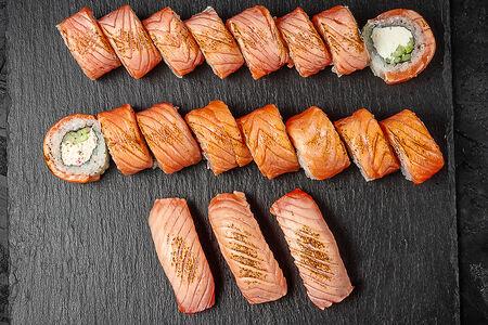 Сет Опаленный лосось