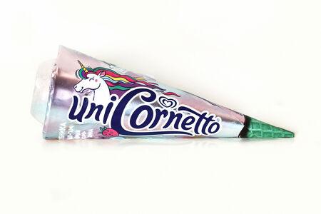 Мороженое Cornetto Enigma Единорог