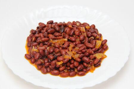 Фасоль красная в соусе