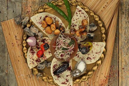 Ассорти овощей на мангале