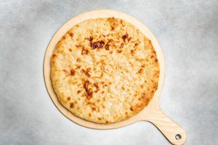 Пирог с курицей, сыром и болгарским перцем