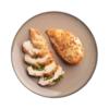 Фото к позиции меню Куриная грудка фаршированая шпинатом и сыром
